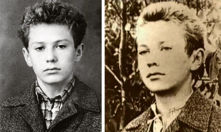 Владимир Жириновский в детстве