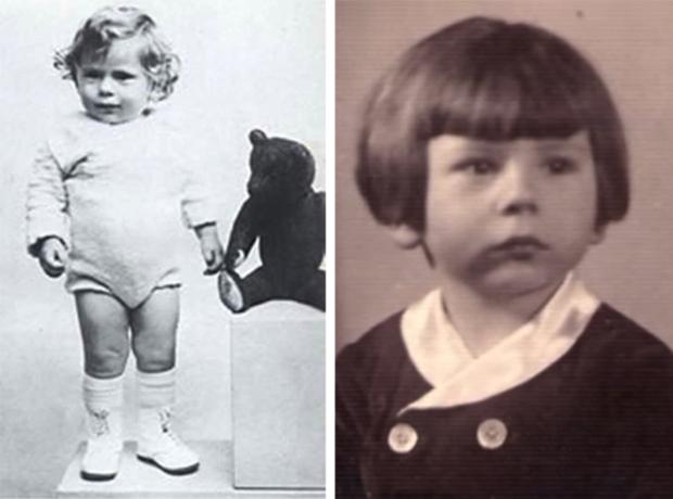 Роман Полански в детстве