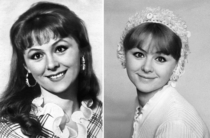 Наталья Селезнева в молодости