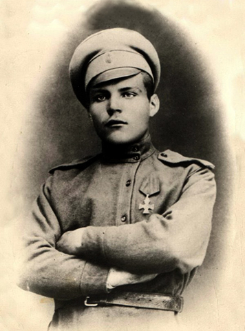 Родион Малиновский в молодости