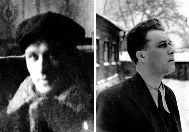 Борис Мокроусов в молодости