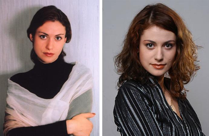 Анна Ковальчук в молодости