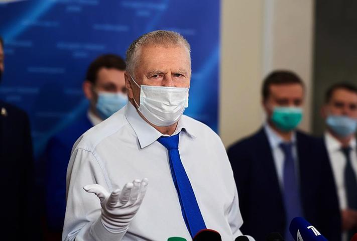 Владимир Жириновский в 2020 году