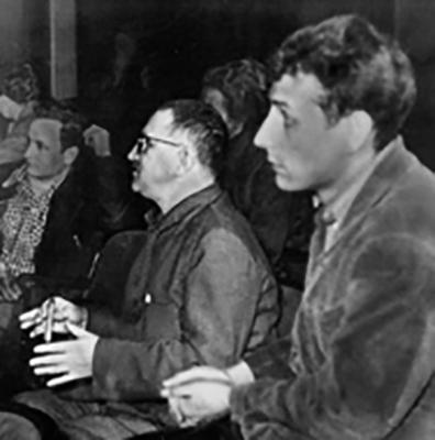 Б. Брехт и М. Векверт (1945 г.)