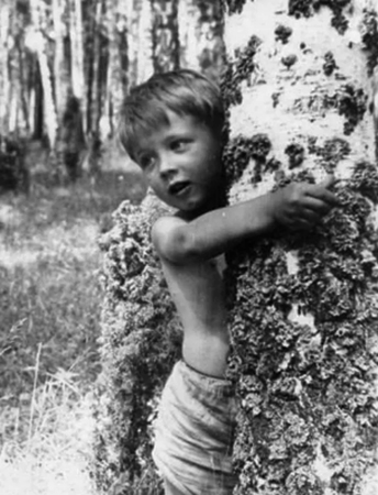 Андрей Ростоцкий в детстве