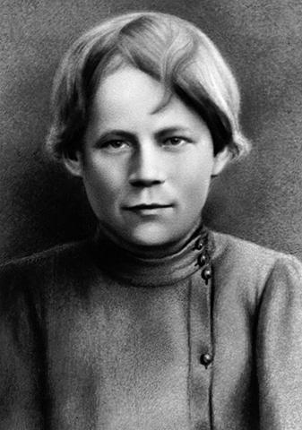 Михаил Калинин в детстве