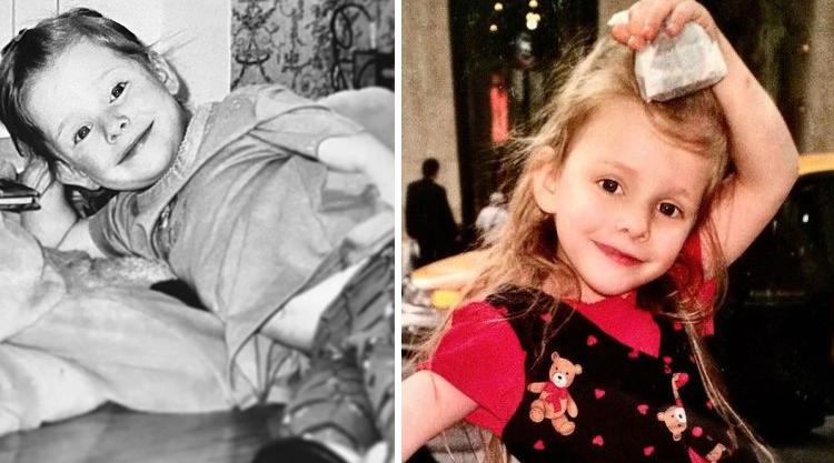 Елизавета Арзамасова в детстве