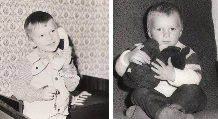 Андрей Искорнев в детстве