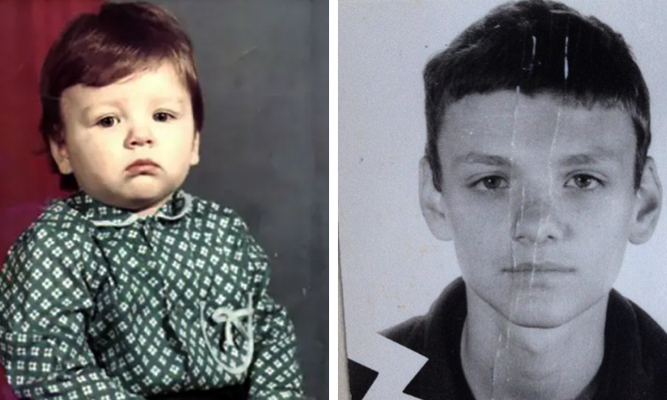Тони Раут в детстве и юности