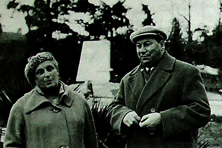 Василий Меркурьев и Ирина Мейерхольд