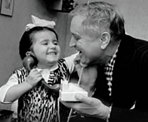 С дочерью Катей