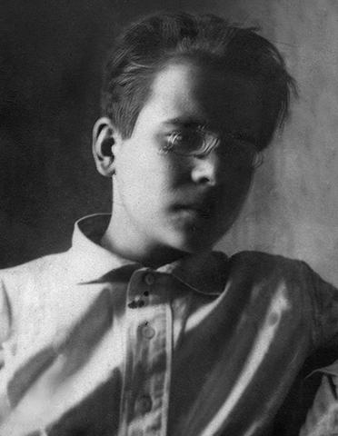 Сергей Лебедев в юности