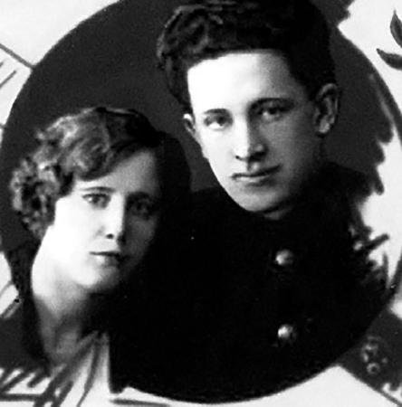 С первой женой Ниной