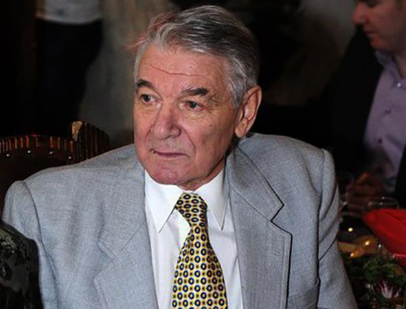 Александр Белявский в старости
