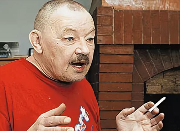 Михаил Кононов в старости