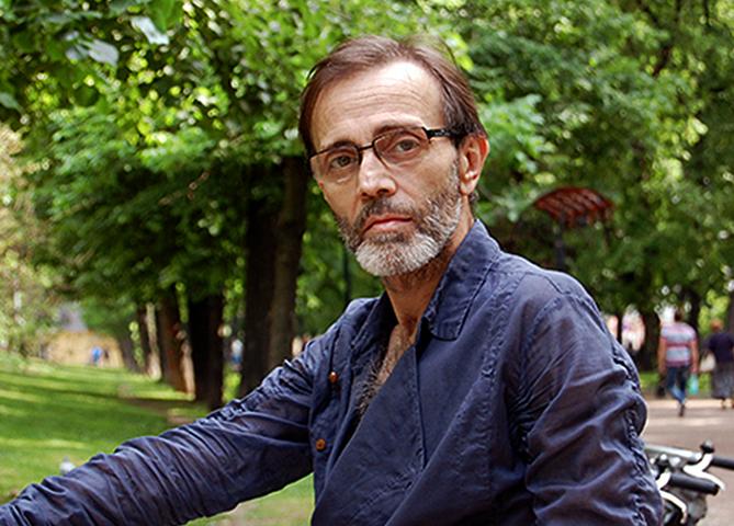 Андрей Харитонов в старости