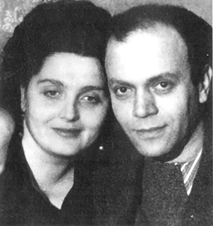С первой женой Ольгой