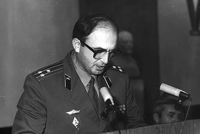 Начальник НИП-3 К.П. Петров (1981-1987)
