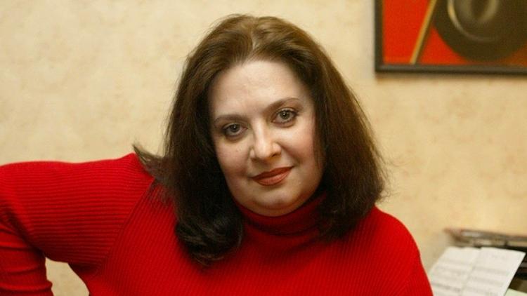 Певица Татьяна Анциферова