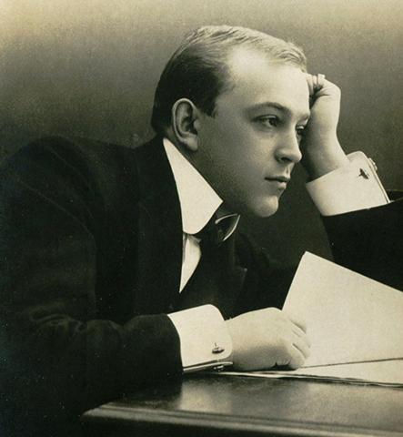 Леонид Собинов в молодости