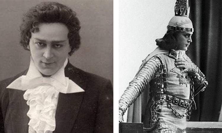 Знаменитый тенор Леонид Собинов