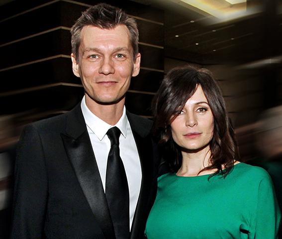 С женой Оксаной