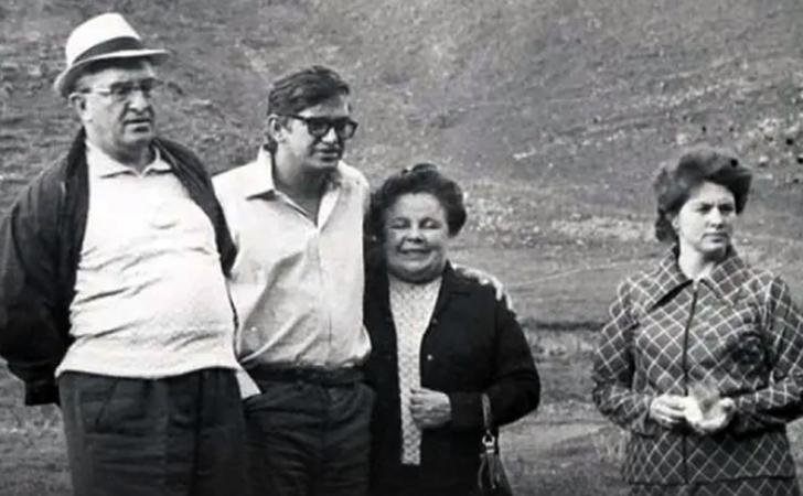 Со второй женой Татьяной и детьми