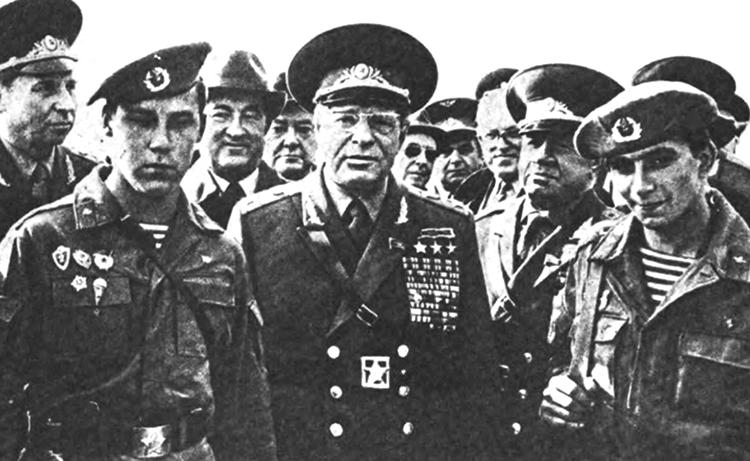Во время учений «Запад-81»