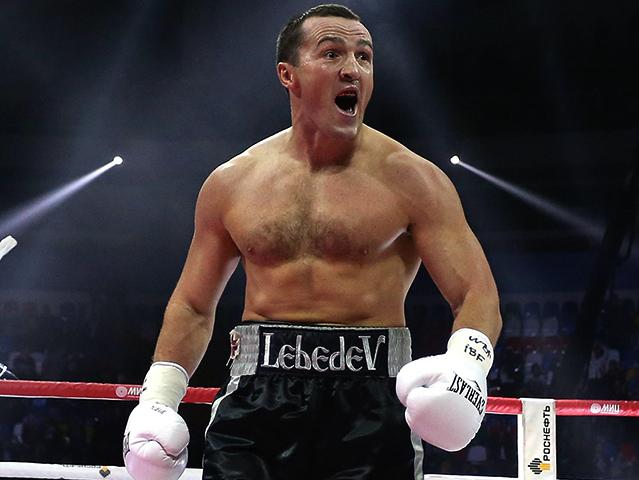 Чемпион Денис Лебедев