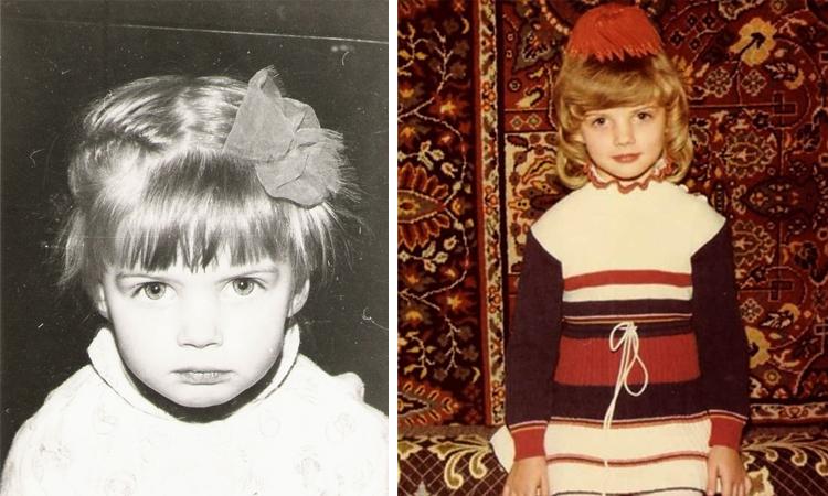 Анастасия Задорожная в детстве