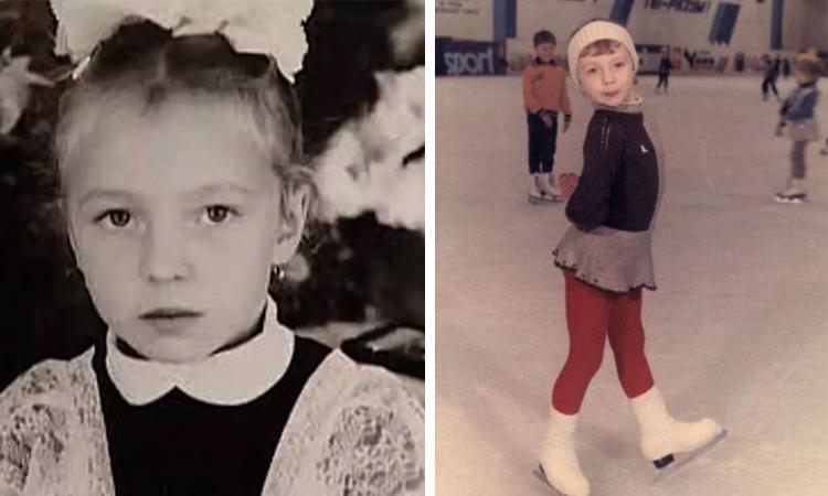 Татьяна Тотьмянина в детстве