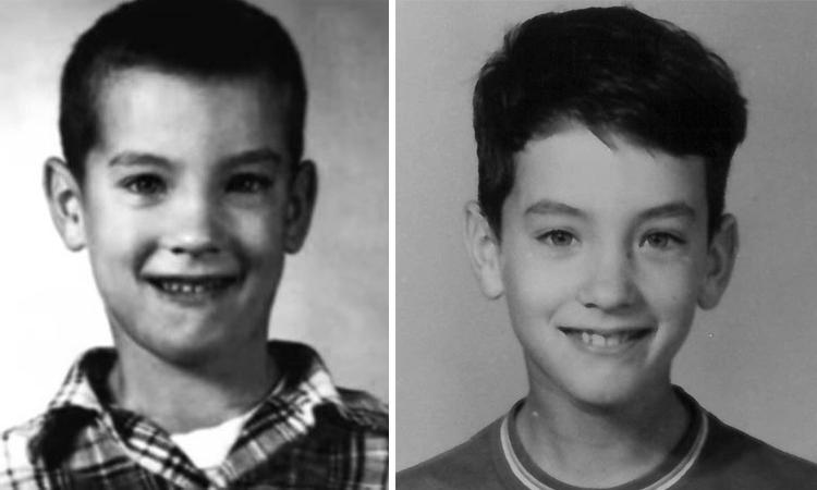 Том Хэнкс в детстве
