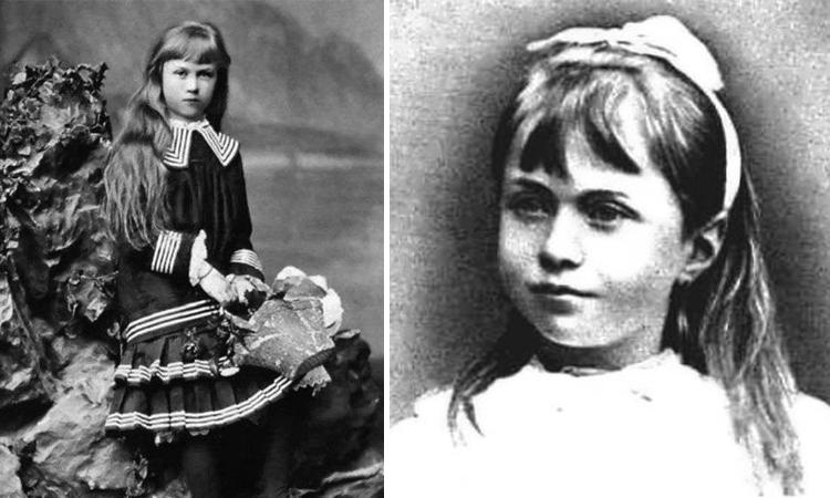 Александра Коллонтай в детстве
