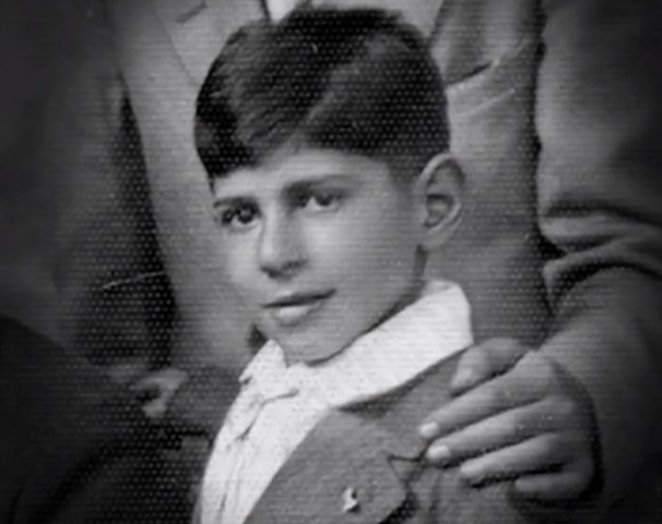 Жак Фреско в детстве