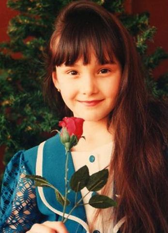 Аида Гарифуллина в детстве