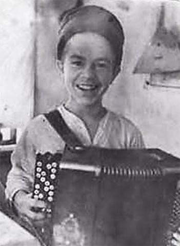 Евгений Родыгин в детстве