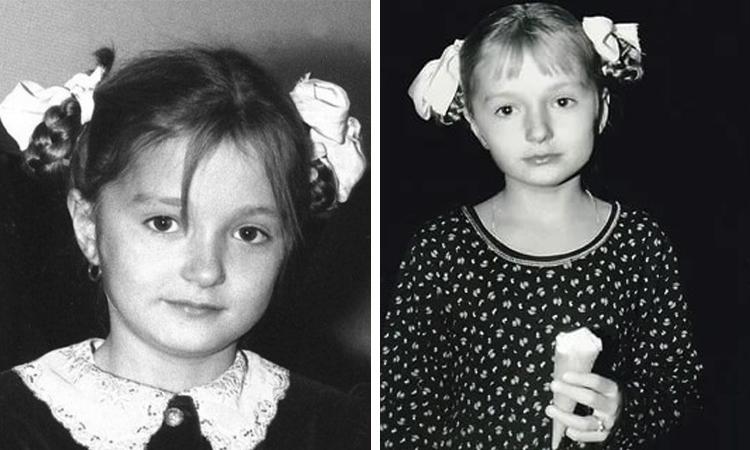Надежда Михалкова в детстве