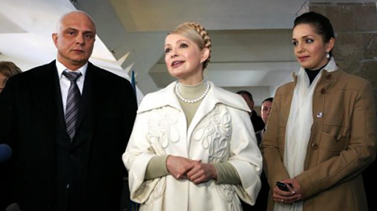 С мужем Александром и дочерью Евгенией