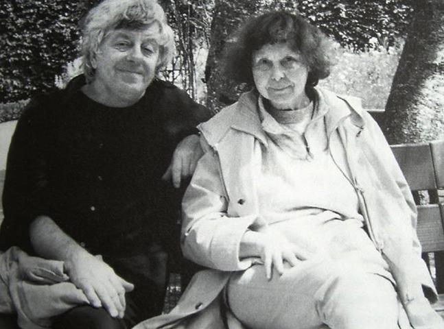 София Губайдулина и Петр Мещанинов