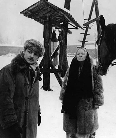 Андрей Тарковский и Ирма Рауш
