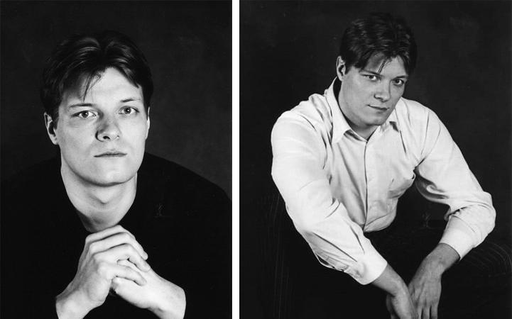 Алексей Моисеев в молодости