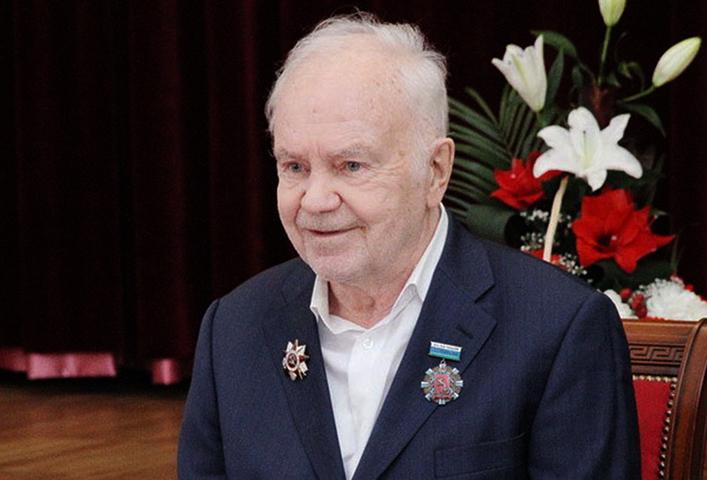 Евгений Родыгин в старости