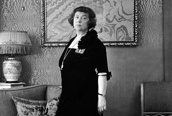 Александра Коллонтай в последние годы