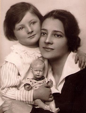 Вторая жена Эсфирь с дочерью Светланой