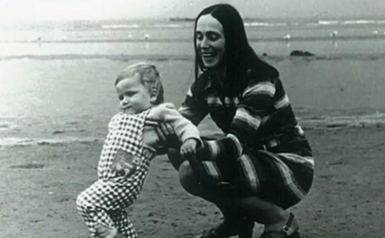 Вторая жена Татьяна с сыном Егором