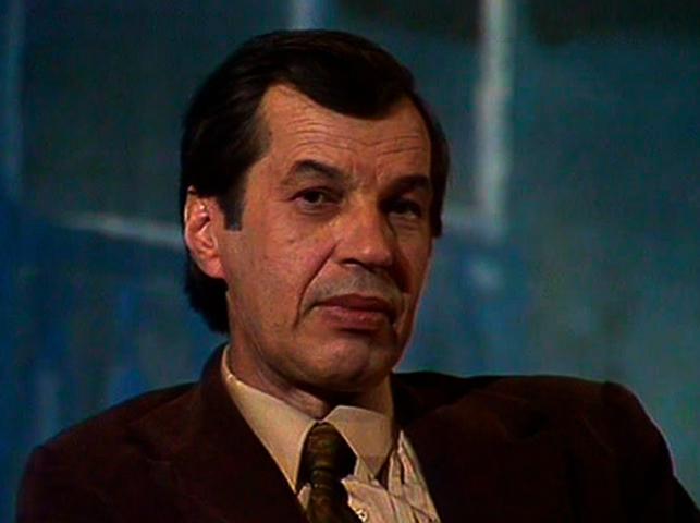 Актер Георгий Бурков