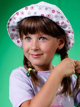 София Стеценко в детстве