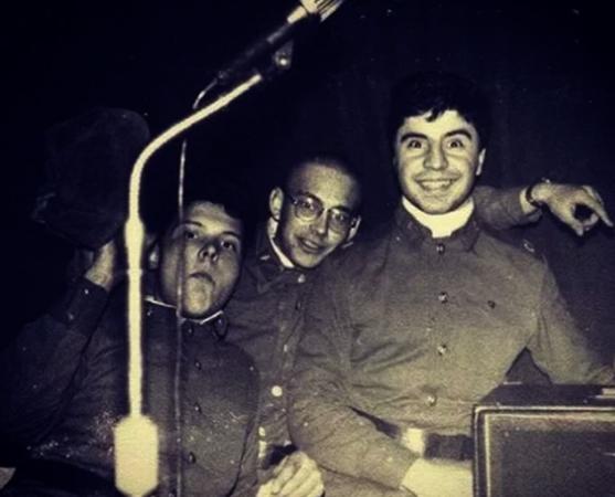 Сосо Павлиашвили (справа) в армии
