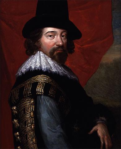 Фрэнсис Бэкон. Портрет 1618 г.