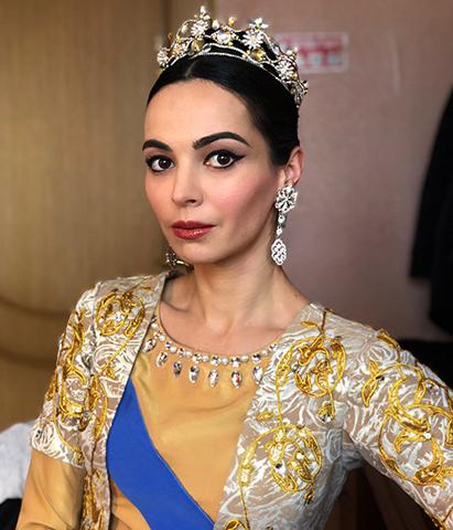 Балерина Диана Вишнёва
